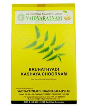 Vaidyaratnam Bruhatyadi Kashaya Choornam