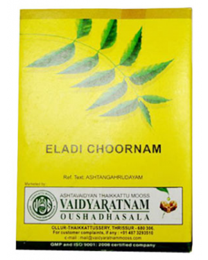 Vaidyaratnam Eladi Choornam