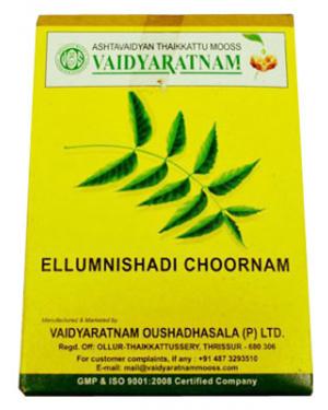 Vaidyaratnam Ellumnishadi Choornam