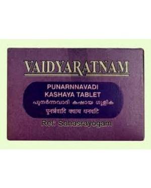 Vaidyaratnam Punarnavadi Kashaya Gulika Tablet