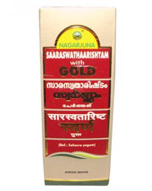 Saaraswathaarishtam With Gold (25 Ml)