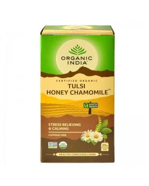 Organic India Tulsi Honey Chamomile Tea