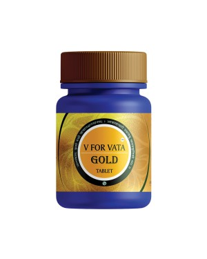 V FOR VATA GOLD BY A FOR AYURVEDA