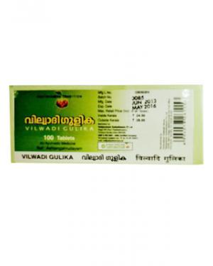 Vaidyaratnam Vilwadi Gulika Tablets