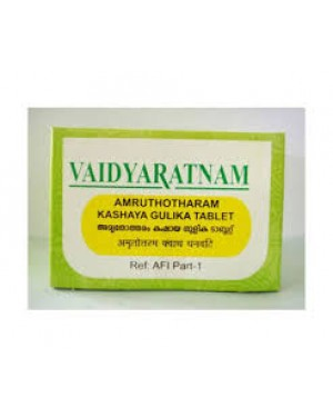 Vaidyaratnam Amruthotharam Kashaya Gulika Tablet