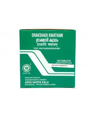 Kottakkal Drakshadi Kashayam TAblets