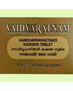 Vaidyaratnam Gandharvahasthadi Kashayam Tablets