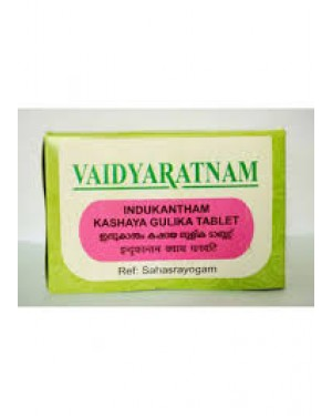 Vaidyaratnam Indukantham Kashaya Gulika Tablet