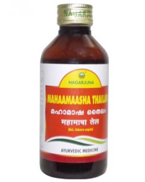 Mahaamaasha Thailam By Nagarjuna 200 Ml