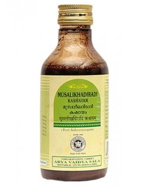 Kottakkal Musalikhadiradi Kashayam