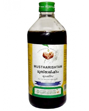 Vaidyaratnam Mustharishtam