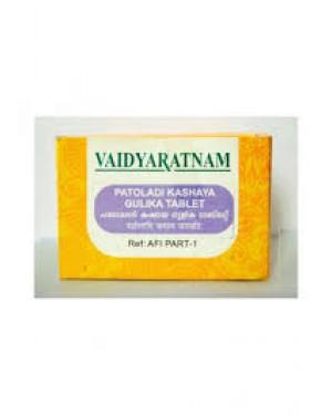 Vaidyaratnam Patoladi Kashaya Gulika