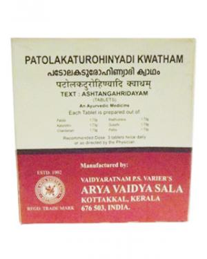 Kottakkal Patolakaturohinyadi Kwatham Tablets
