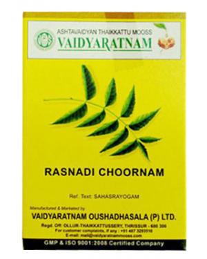 Vaidyaratnam Rasnadi Choornam