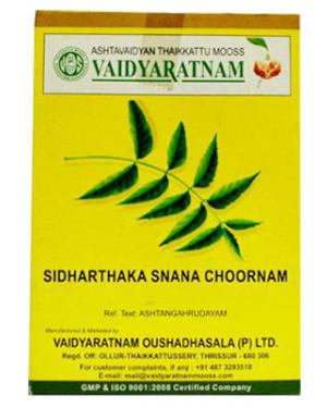 Vaidyaratnam Sidharthakasnana Choornam