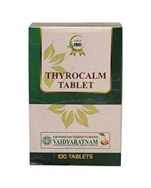Vaidyaratnam Thyrocalm Tablets