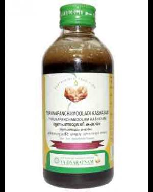 Vaidyaratnam Thrunapanchamooladi Kashayam