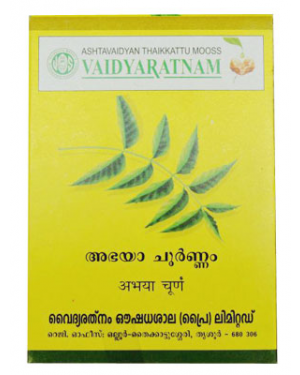 Vaidyaratnam Abhayadi Choornam