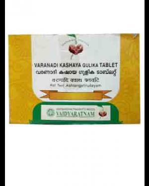 Vaidyaratnam Varanadi Kashaya Gulika Tablet